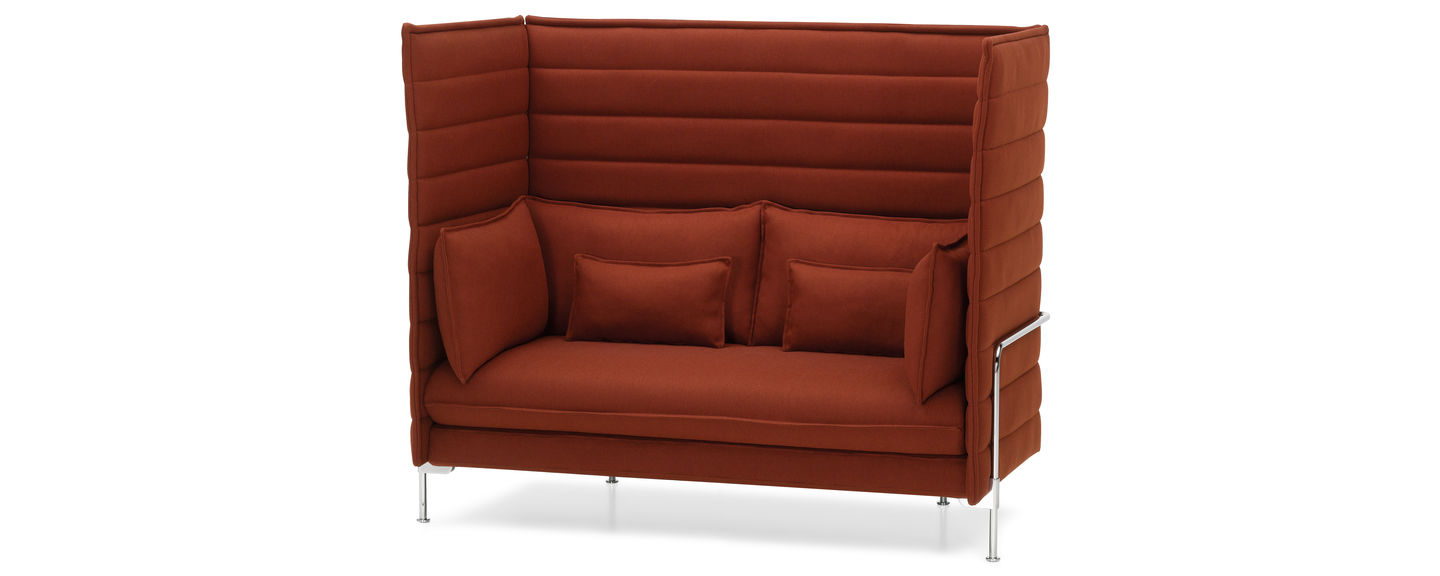 Pleasant Vitra Alcove Highback Sofa Andrewgaddart Wooden Chair Designs For Living Room Andrewgaddartcom