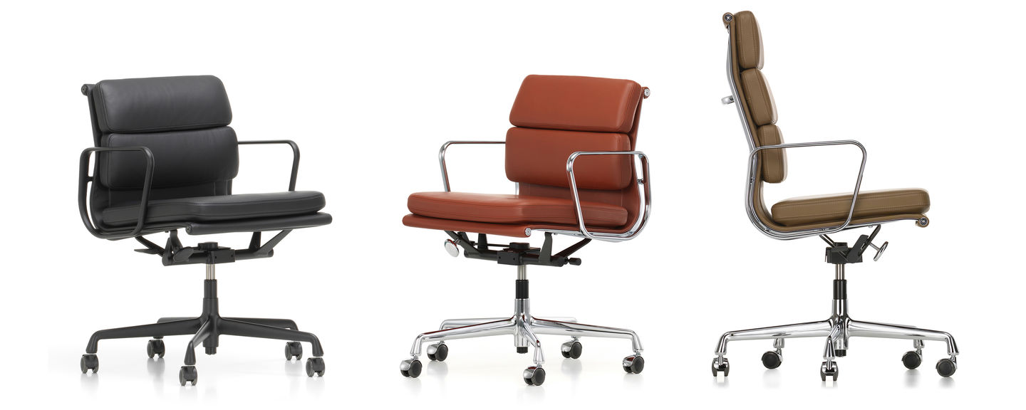 Vitra Soft Pad Chairs Ea 217 219