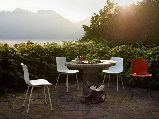 Vitra hal wood for Schalenstuhl outdoor