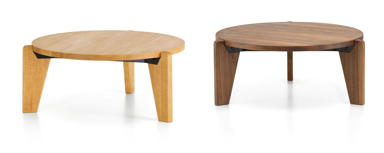 Schreibtischplatte massivholz  Vitra | Guéridon Bas