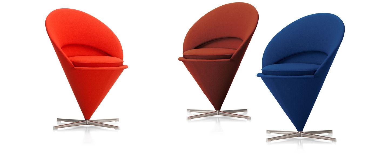 Filzgleiter Panton Chair vitra cone chair