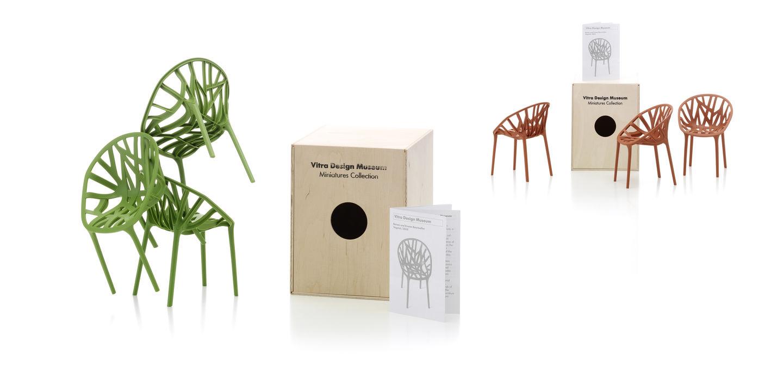 Vitra Miniatures Vegetal 3er Set