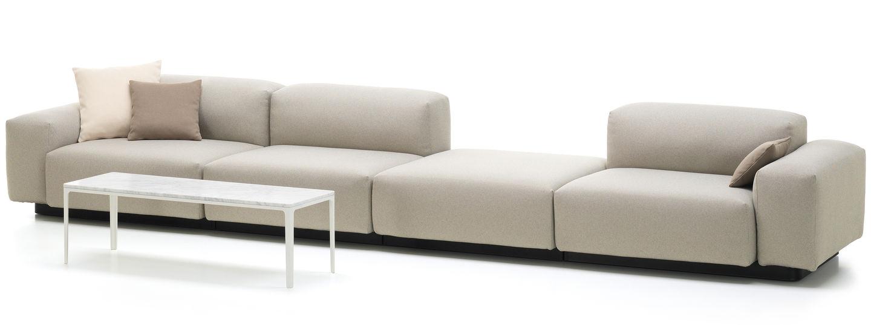 Modulares Sofa vitra modular sofa viersitzer plattform