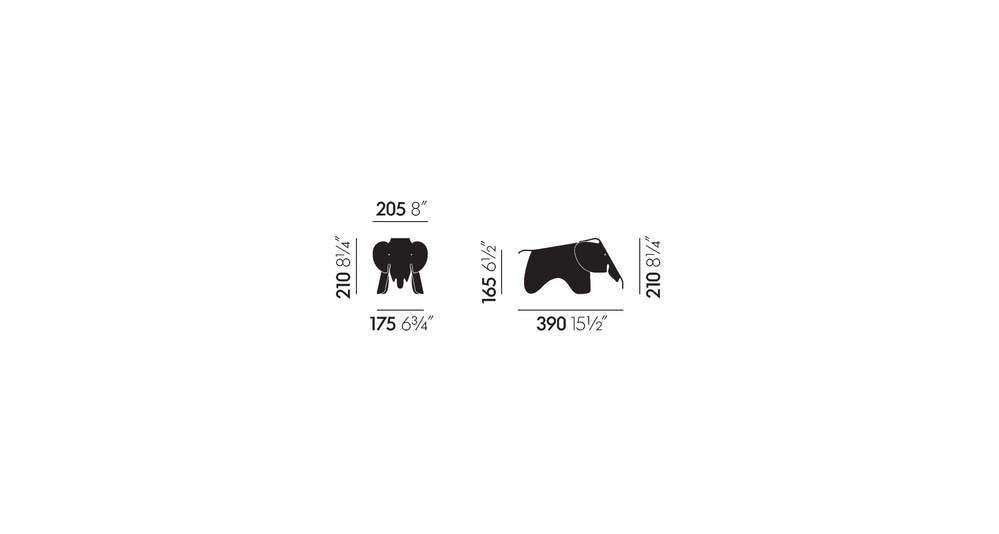 Eames Elephant small (Plastic)