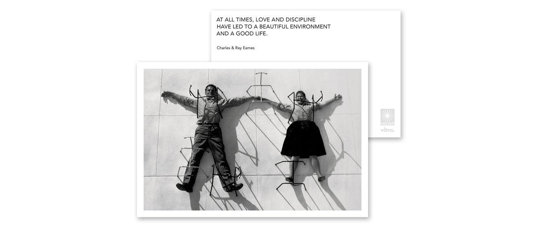 Die Eames Quotes Greeting Cards Bringen Positionen Von Charles Und Ray Ihr Bewusstsein Fur Designfragen Anhand Zitaten Fotografien