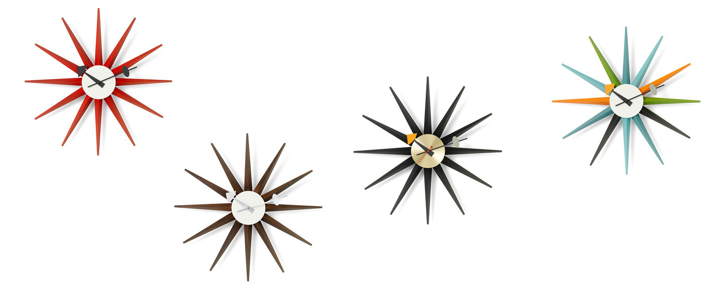 Vitra Wall Clocks Sunburst Clock