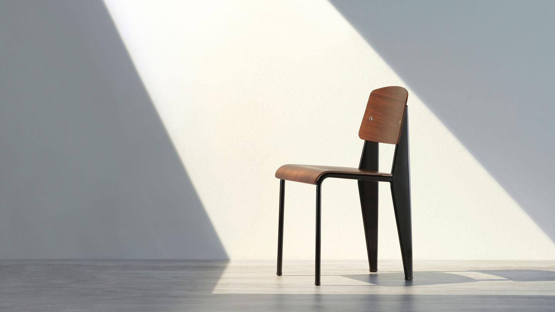 Der standard stuhl von jean prouv eine original for Stuhl design geschichte
