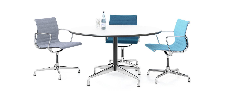 vitra eames tables segmented. Black Bedroom Furniture Sets. Home Design Ideas