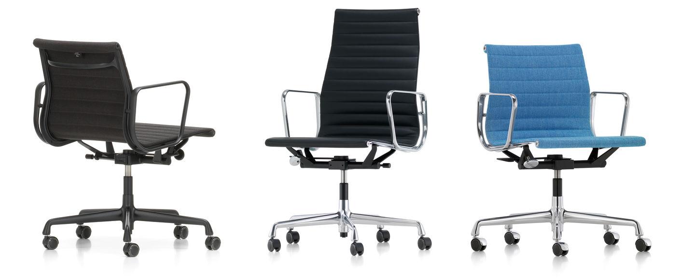 Vitra   Aluminium Chairs EA 117/118/119