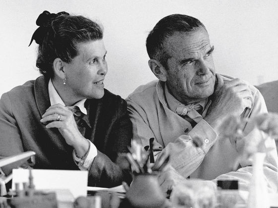 charles and ray eames are counted among the most important figures of. Black Bedroom Furniture Sets. Home Design Ideas