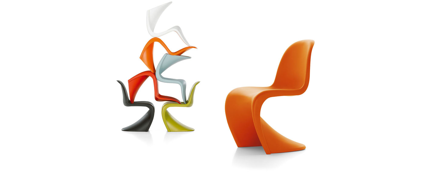 Conceived By Verner Panton In 1960, The Panton Chair Was Developed For  Serial Production In Collaboration With Vitra (1967). Today, The  All Plastic Chair Is ...