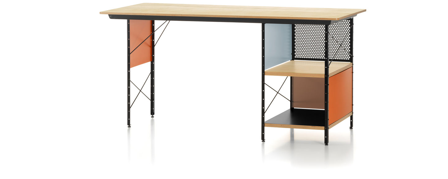 vitra  eames desk unit edu - the eames desk unit (edu) was constructed by charles and ray eames inaccordance with the principles of industrial production