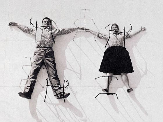 Sedia A Dondolo Rar Eames : Vitra eames plastic chair