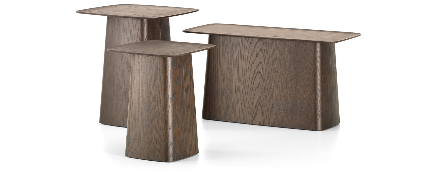 Vitra Wooden Side Table - Long wooden side table