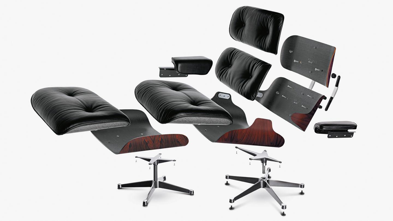 Eames Lounge Chair Fauteuils.Vitra Eames Lounge Chair