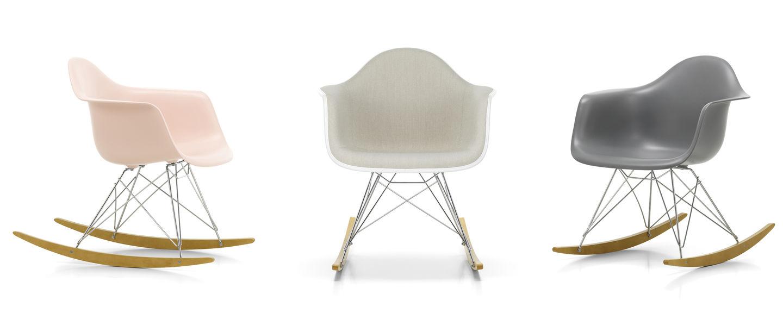 Sedia Dondolo Eames.Vitra Eames Plastic Armchair Rar