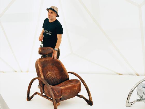 Pleasant Vitra Ron Arad Bralicious Painted Fabric Chair Ideas Braliciousco