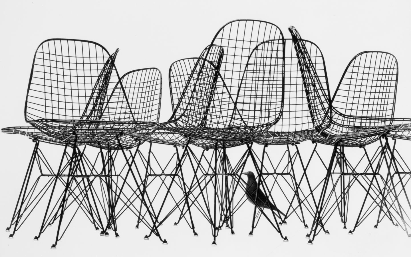 Eames wire chair dimensions - Eames Office Llc The Wire Chairs