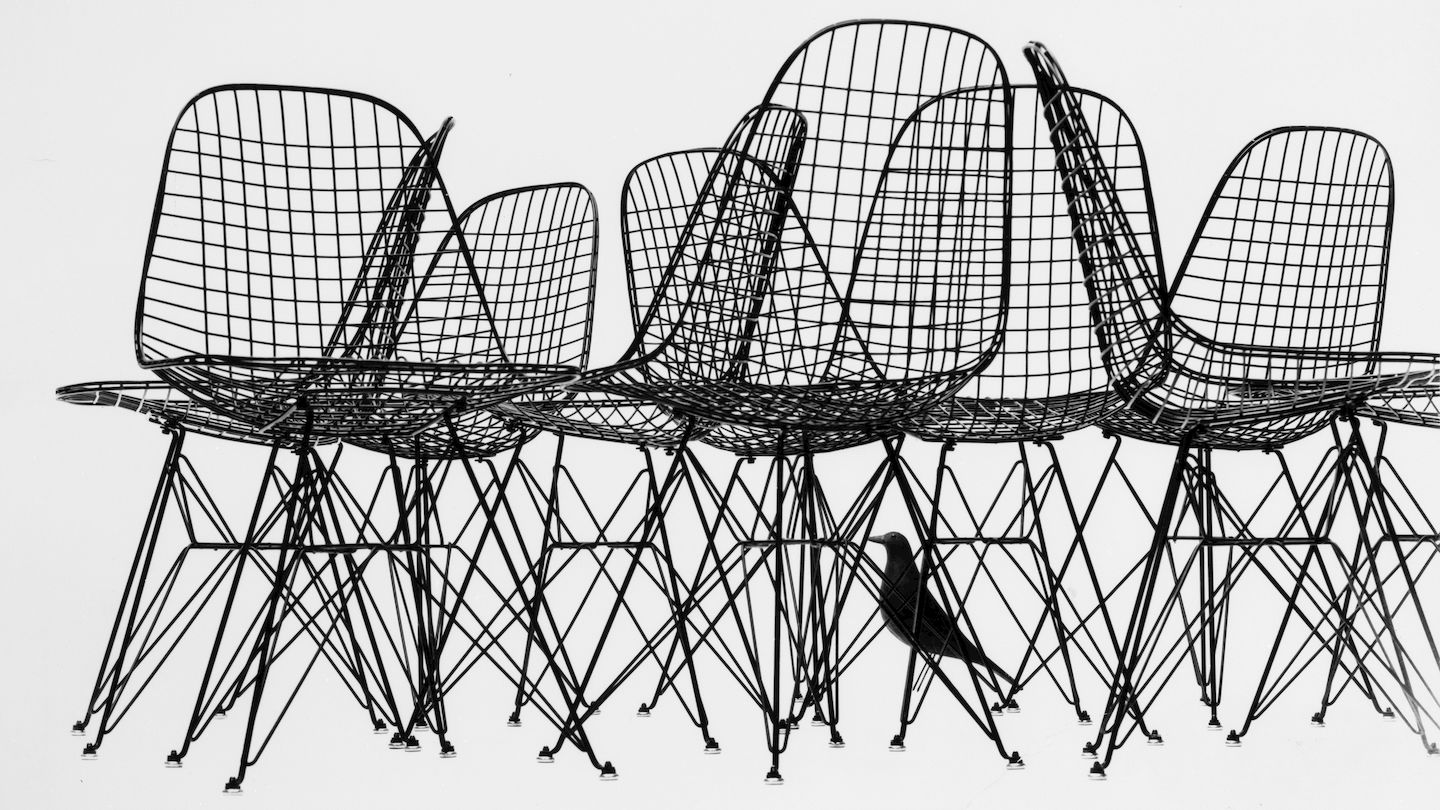 Wire Chair. Charles U0026 Ray Eames, 1951