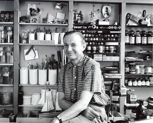 DW_Alexander Girard_Photo taken by Charles Eames_flat