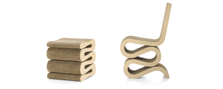 Vitra | Wiggle Side Chair & Wiggle Stool