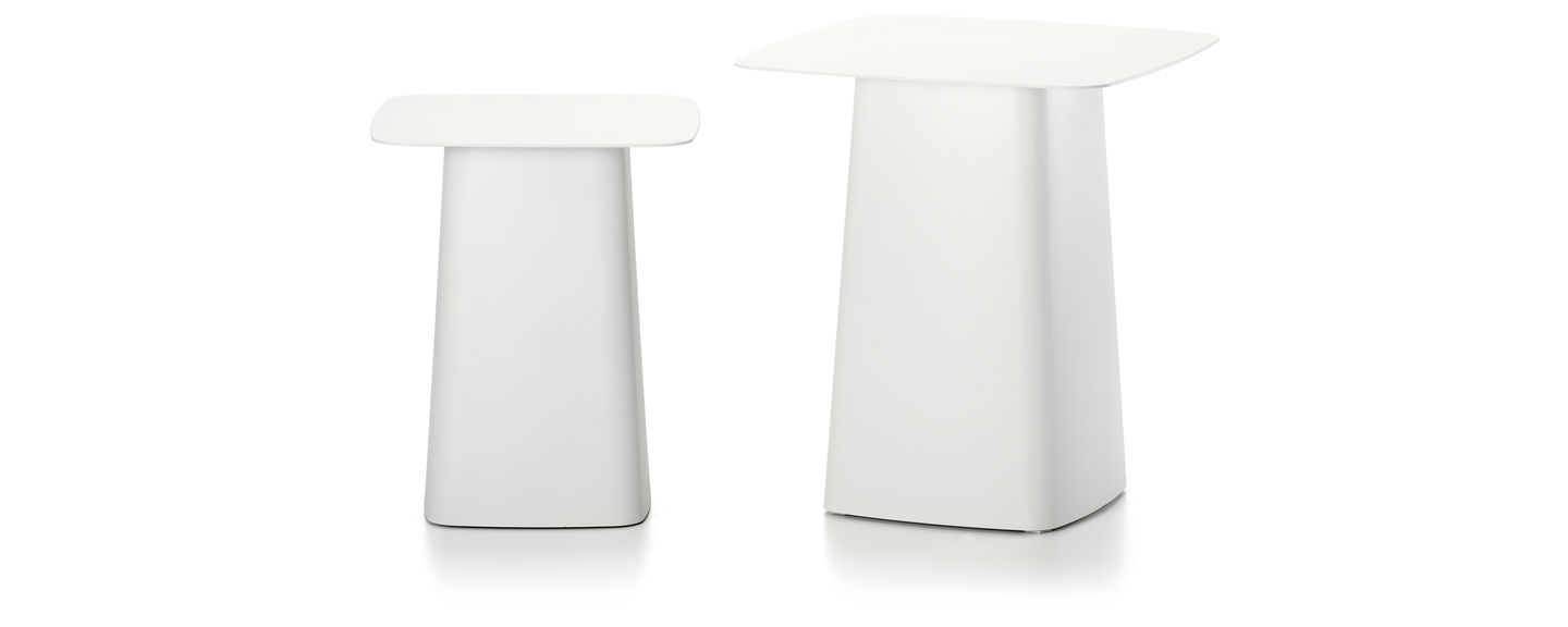 Vitra Metal Side Table.Vitra Metal Side Tables
