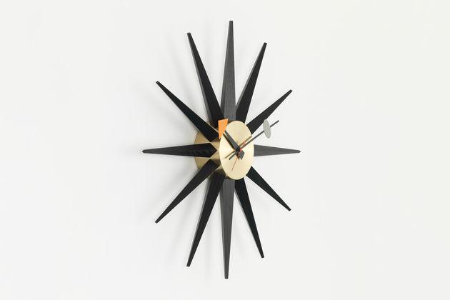 10c15da09873 Configurator. Sunburst Clock black brass