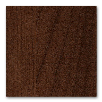 stained walnut-colored