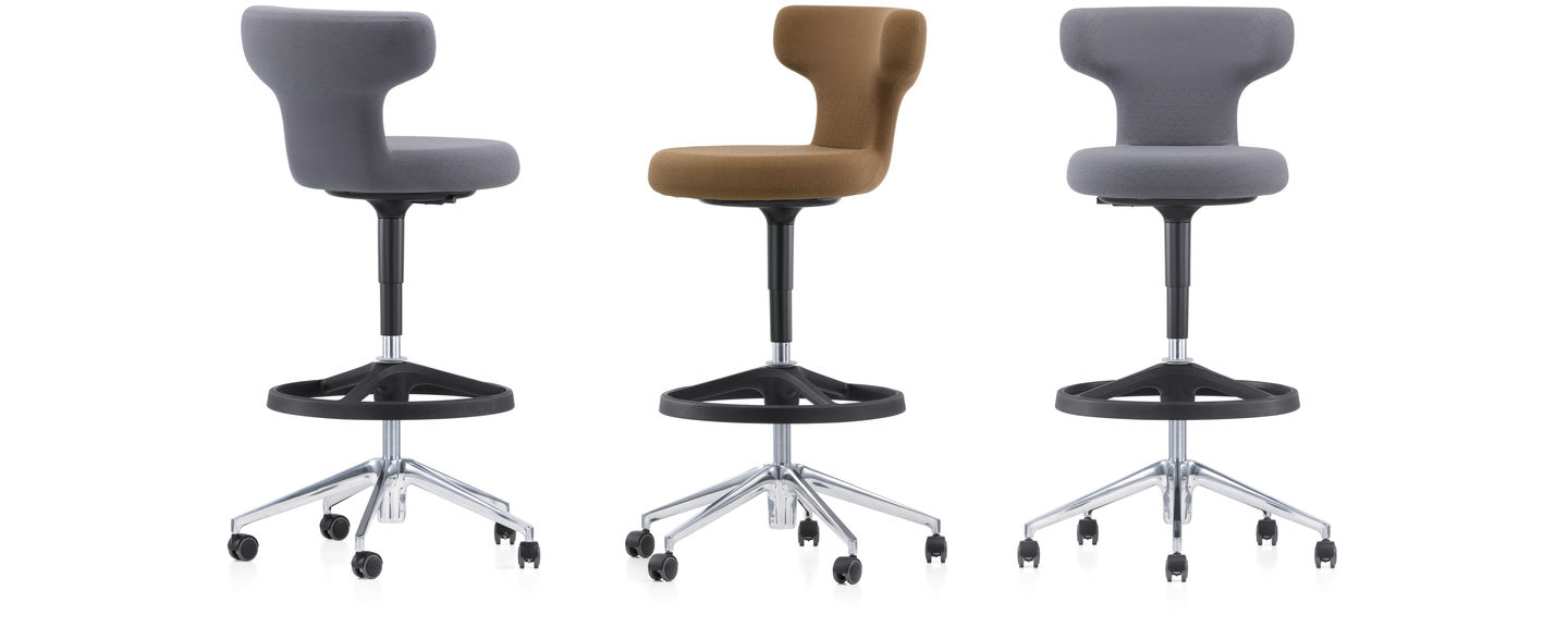 As Pivot Is 30 Cm Taller Than A Standard Office Chair It Designed For Use With Standing Height Tables This Encourages Healthy And Spontaneous