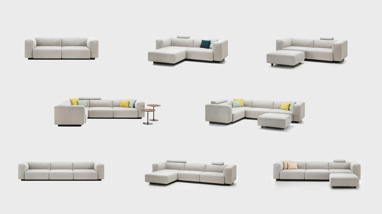 vitra soft modular sofa. Black Bedroom Furniture Sets. Home Design Ideas