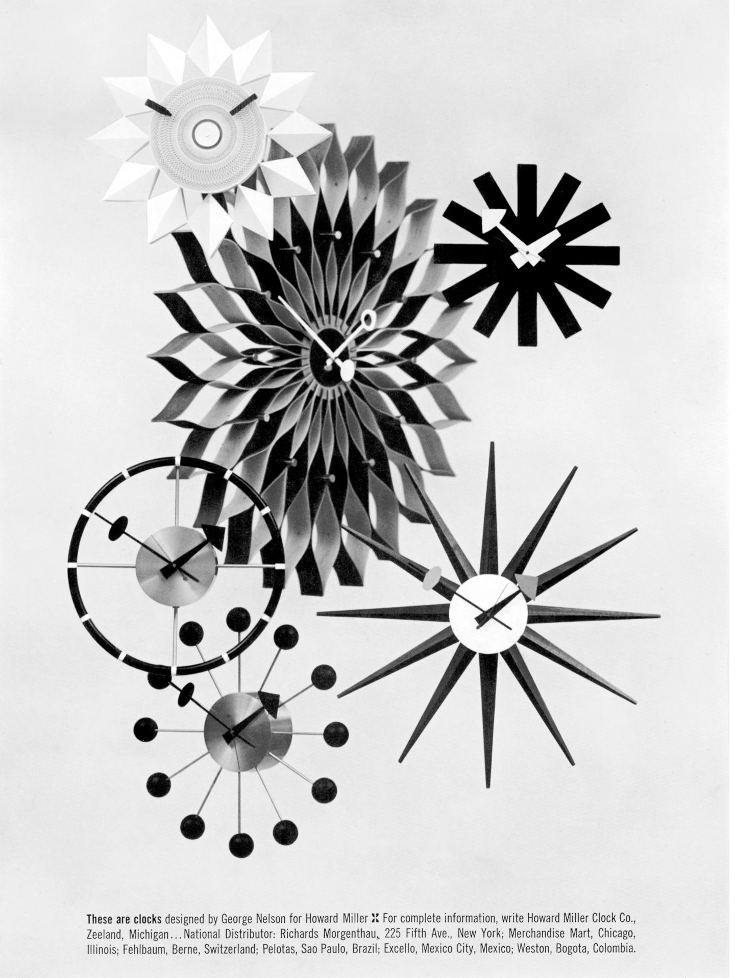 8b9b6af537fc The Wall Clocks are available in a diverse range of shapes and materials.  Equipped with high-quality quartz movements