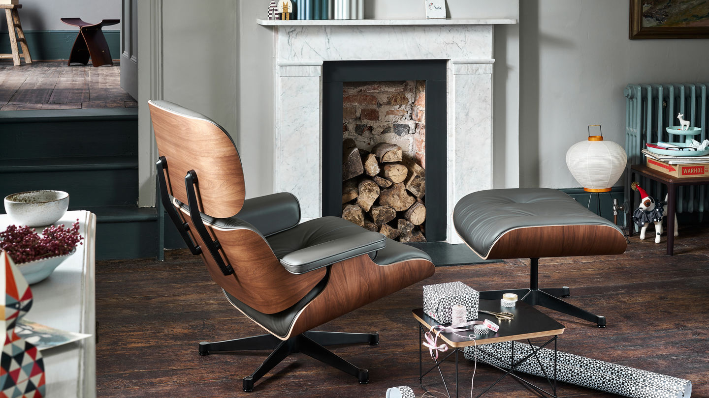 vitra lounge chair. Black Bedroom Furniture Sets. Home Design Ideas