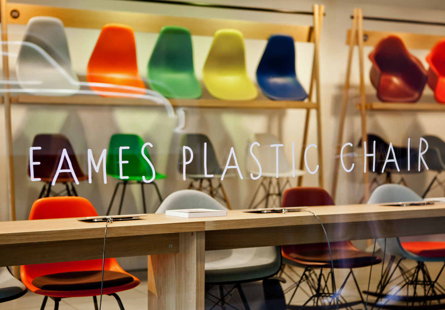 Vitra home for Pop furniture eames