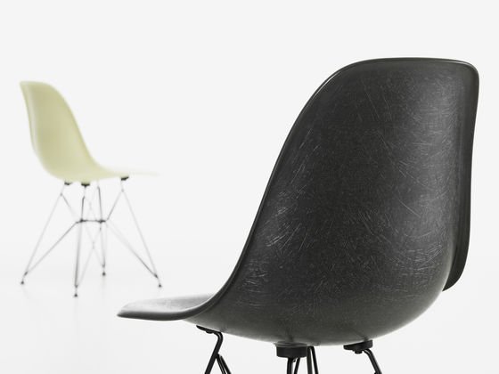 The Eames Fiberglass Chair Will Be Available At Selected Dealers From  October 2018.
