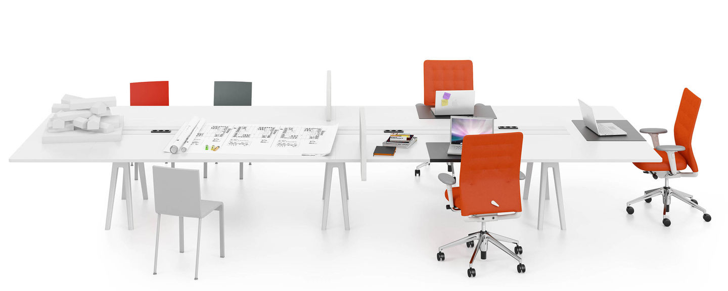 Awe Inspiring Vitra Joyn Workstations Interior Design Ideas Apansoteloinfo