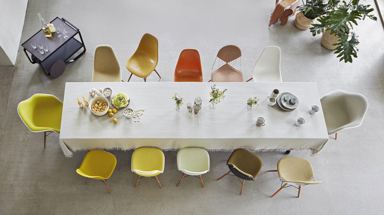 Pleasing Vitra Eames Plastic Chair Machost Co Dining Chair Design Ideas Machostcouk