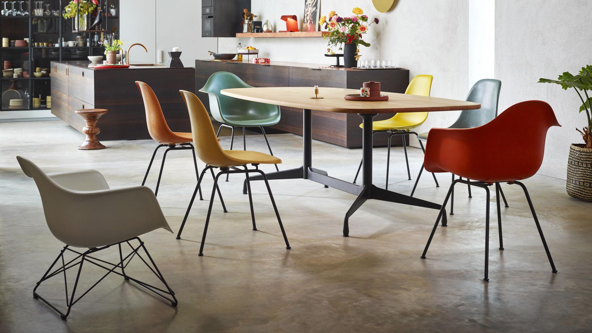 Vitra Eames Plastic Armchair Dax