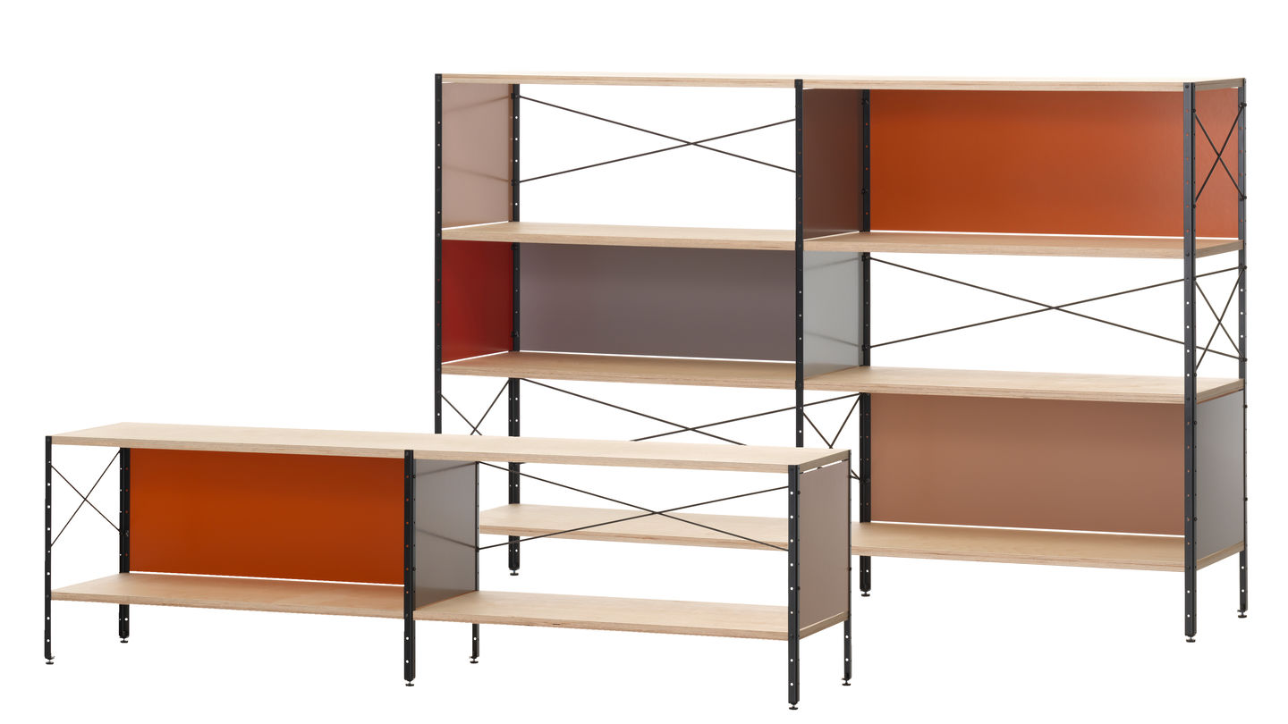 The ESU Shelf By Charles And Ray Eames Comes In Various Heights: From A Low  Sideboard To A Tall, Spacious Bookshelf. The ESU Shelf Is Somewhat Wider  Than ...