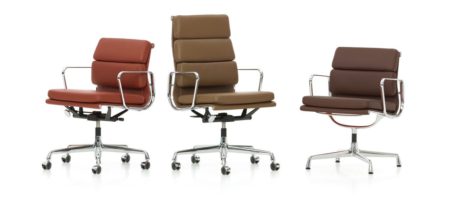 Vitra   Soft Pad Group. Eames Soft Pad Management Chair Used. Home Design Ideas
