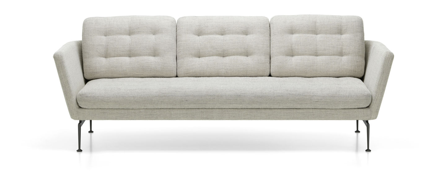Groovy Vitra Suita Sofa 3 Seater Tufted Creativecarmelina Interior Chair Design Creativecarmelinacom