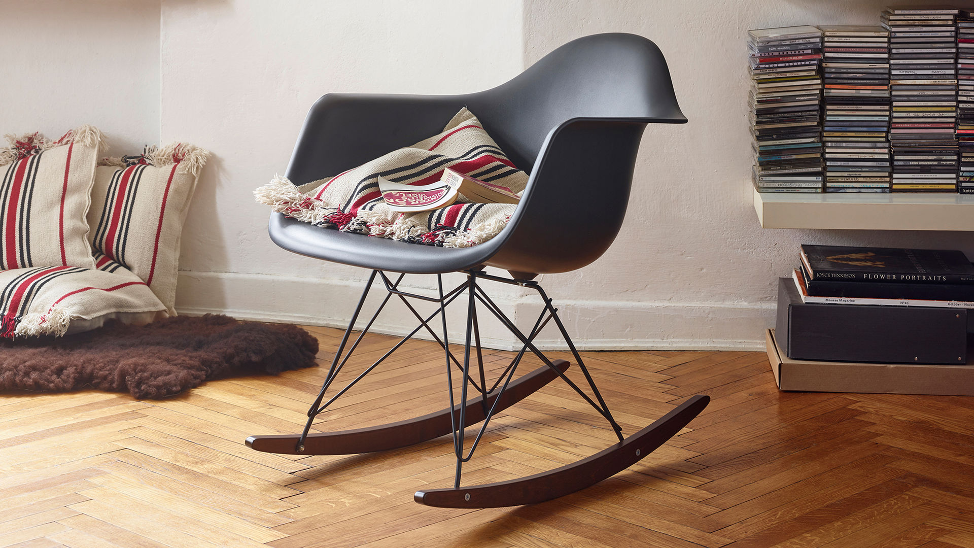 Sedia A Dondolo Rar Eames : Vitra eames plastic armchair rar