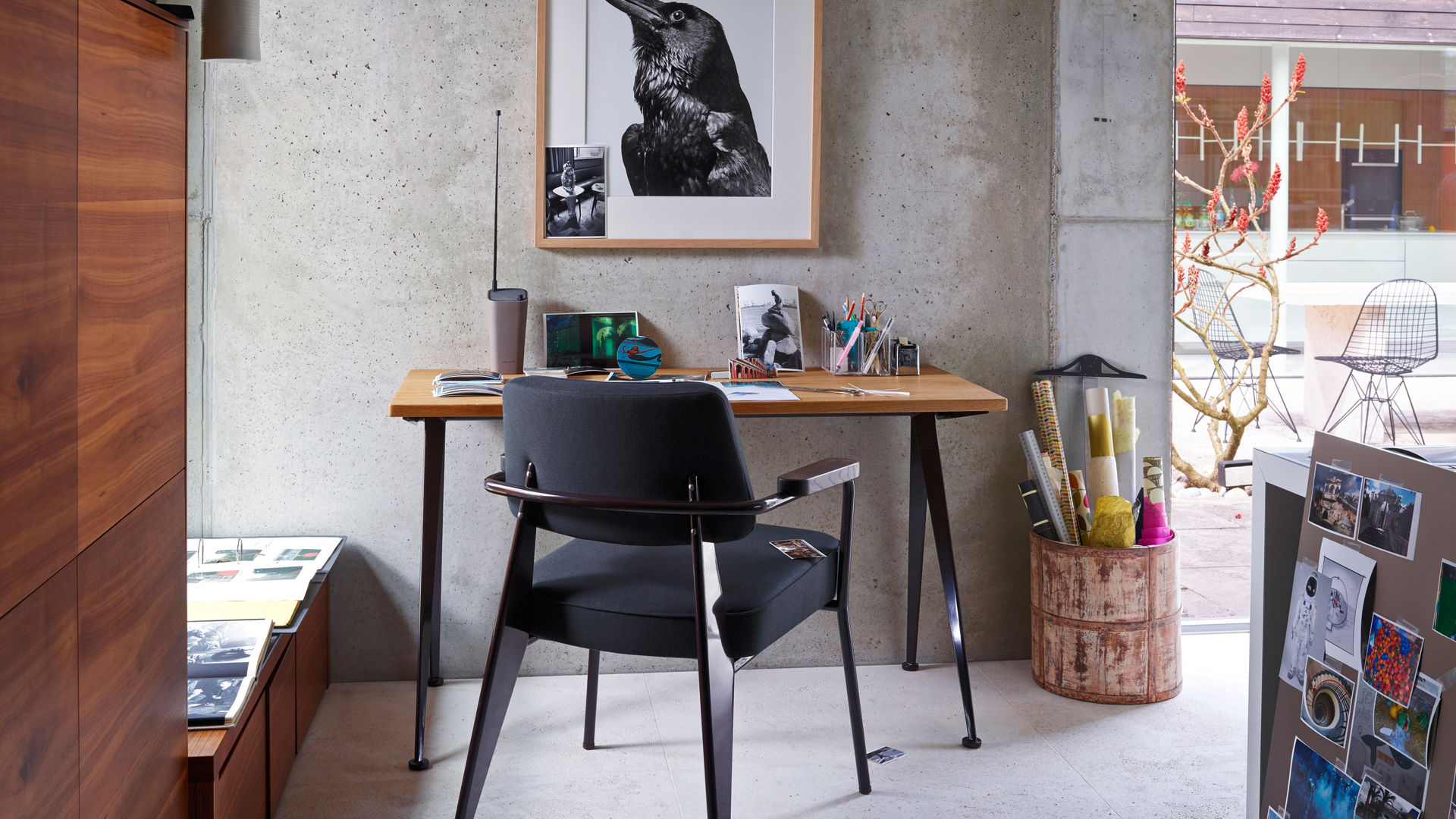 Fauteuil Direction, Compas Direction, Wire Chair_web_inspiration