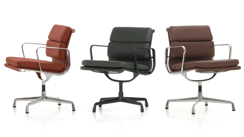 Vitra Soft Pad Chairs Ea 205 207 208