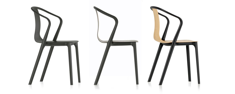 Ronan & Erwan Bouroullec vitra | belleville armchair wood
