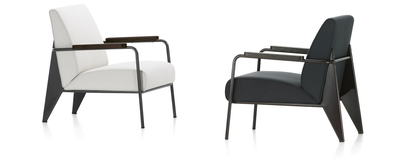 Developed By Jean Prouv The Fauteuil De Salon Is A Typical Example Of Distinctive Structural Aesthetic His Designs