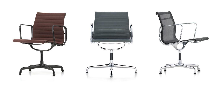 Vitra Aluminium Chairs Ea 105 107 108