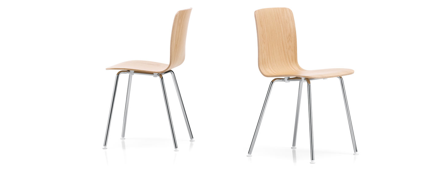 Vitra hal ply tube for Plywood chair morrison