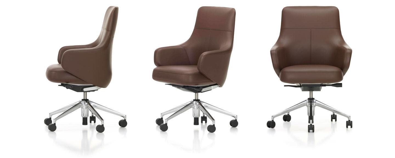 Miraculous Vitra Grand Executive Lowback Creativecarmelina Interior Chair Design Creativecarmelinacom