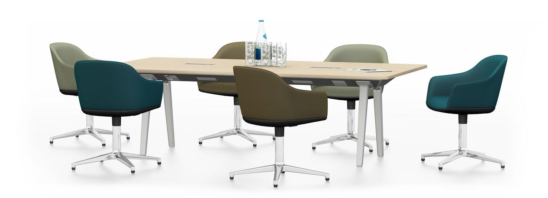 vitra joyn single bench 240 x 120 cm softshell chair. Black Bedroom Furniture Sets. Home Design Ideas