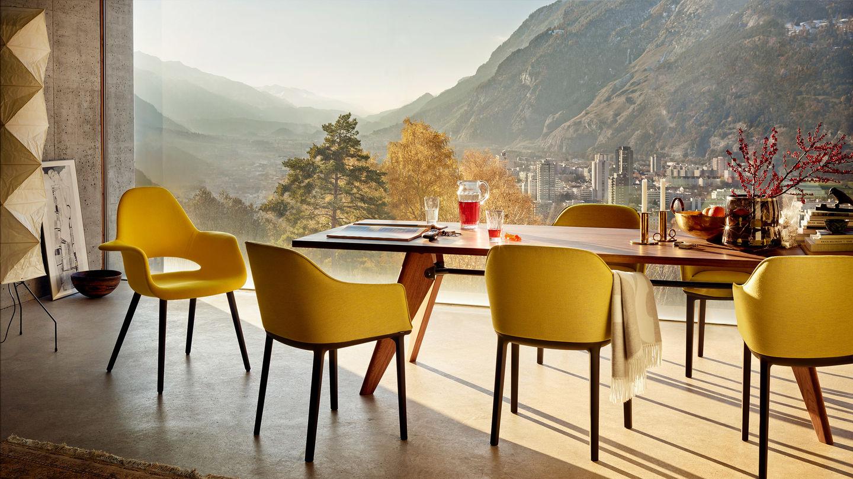 vitra softshell chair. Black Bedroom Furniture Sets. Home Design Ideas